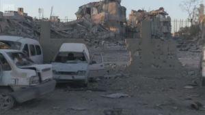 Uutisvideot: Isisin entinen pääkaupunki raunioina