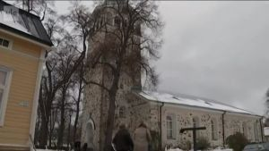 Uutisvideot: Hartaushetki Tammisaaren kirkossa