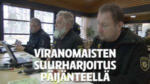 Yle Uutiset Keski-Suomi: Mayday mayday! - Lentopelastus vaatii monen viranomaisen yhteistyötä, jos ilmavoimien kone rysähtää Päijänteeseen