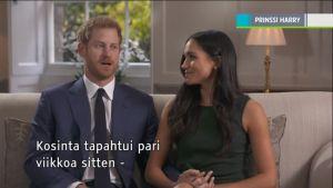 Uutisvideot: Prinssi Harryn kosinta