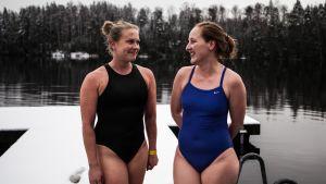 Uutisvideot: Sata järveä, sata pulahdusta – Juhlavuosi innoitti kaksikon uimaan sadassa eri järvessä