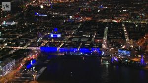 Uutisvideot: Helsinki valaistiin sinivalkoiseksi