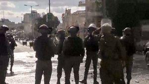 Kireät tunnelmat Länsirannalla – Katso suoraa kuvaa Betlehemin mielenosoituksesta