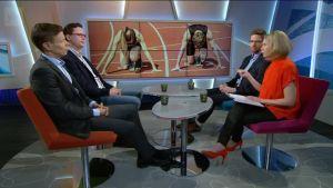 Ylen aamu-tv: Sukupuolten välinen tasa-arvo urheilussa