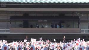 Uutisvideot: Ennätysyleisö juhli Japanin keisarin syntymäpäivää