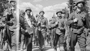 Puolustusvoimat 100 vuotta -juhlavuoden avaus
