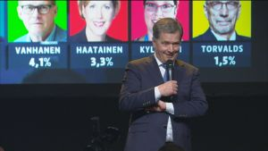 """Presidentinvaalit 2018: Niinistö kannattajilleen: """"Voi hyvät ihmiset, onneksi olkoon teille!"""""""