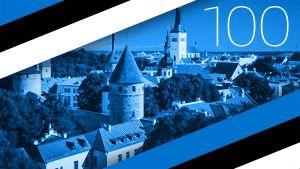 Linnan juhlat virolaiseen tapaan: itsenäisyyspäivän vastaanotto Tartossa