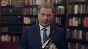 Uutisvideot: Suomen virallinen videotervehdys satavuotiaalle Virolle
