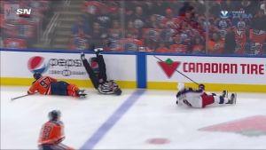 NHL: NHL-linjatuomari kovassa tärskyssä
