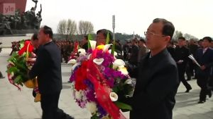 Uutisvideot: Pohjois-Koreassa juhlittiin Kim Il-sungin syntymäpäivää