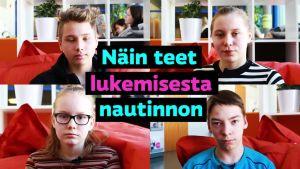 Yle Uutisluokka: Oppilaat lukivat koko viikon - näillä vinkeillä jaksat keskittyä