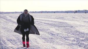 Uutisvideot: Pohjoisnapa maraton kokosi huimapäitä 20 maasta