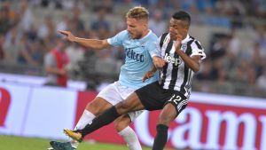 Jalkapallon Italian Cup, puolivälieräottelu Napoli - Lazio