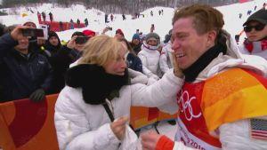 Korean olympialaiset: Poikkeuksellinen saavutus sai Shaun Whiten kyynelehtimään