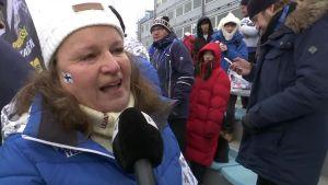 """Korean olympialaiset: Iivo Niskasen äiti huusi äänensä käheäksi ja pyysi onnenkyyneleitä olympiavoitosta: """"Ihan huikeaa"""""""