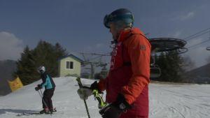 Korean olympialaiset: Kalle Palander korealaisessa hiihtokoulussa