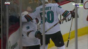 NHL: Evander Kanella hurja neljän maalin ilta
