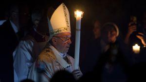 Pääsiäisyön messu Vatikaanissa