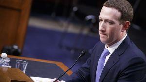 Yle Uutiset suora: Facebookin Zuckerbergin kuuleminen kongressissa jatkuu