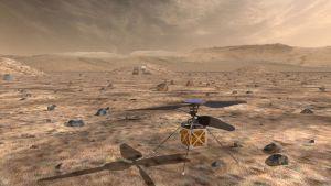 Marsiin lähtee vuonna 2020 helikopteri