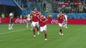 Venäjä voitti Egyptin 3-1