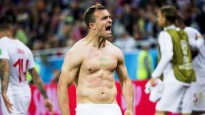 Maalikooste: Sveitsi löi Serbian 2-1