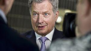 Presidentti Niinistö kommentoi Suomessa järjestettävää huippukokousta