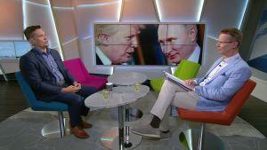 Trump & Putin - mistä suurvaltajohtajat puhuvat?