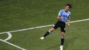 Maalikooste: Uruguay päihitti Portugalin 2-1
