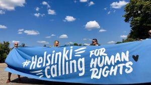 Helsinki Calling - mielenosoitus