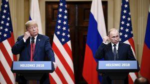 Vinkkasiko Trump silmää Putinille?