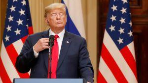 Näin Yhdysvalloissa on kommentoitu Trumpin puheita Helsingissä