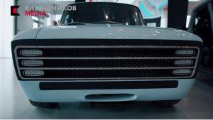 Kalashnikovin tehdas on esitellyt sähköautokonseptinsa CV-1:n