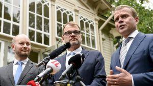 Hallitus kokoontuu Kesärantaan puimaan ensi vuoden talousarvioesitystä
