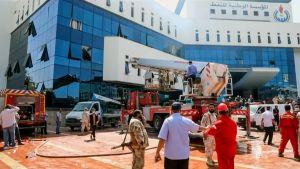 Asemiehet hyökkäsivät Libyan öljy-yhtiön pääkonttoriin