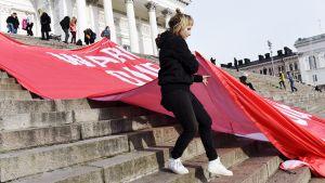 Helsingissä kokoonnutaan mielenilmaukseen ilmastonmuutosta vastaan