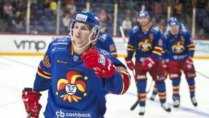 Jokerit mätti KHL:ssä seitsemän maalia - katso ottelun kaikki osumat