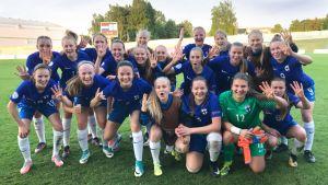 Jalkapallon U17 tyttöjen MM Uusi-Seelanti - Suomi