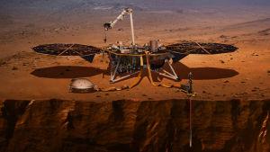 Pääseekö InSight-laskeutuja Marsin pinnalle? Yle seuraa laskeutumisen etenemistä