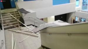 Alaskan järistys aiheutti paniikkia oikeustalolla, tv-asemalla mittavat tuhot