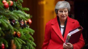Theresa Mayn tiedonanto parlamentille