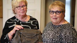 Kadonnut käsilaukku vuodelta 1946 löytyi yllättäen
