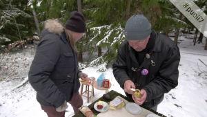 Juha Luonnossa: Lintujen talviruokinta