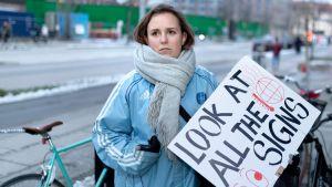 26-vuotias Sussi Lillelund ja muut vaativat Tanskan poliitikoilta tiukempia ilmastotoimia