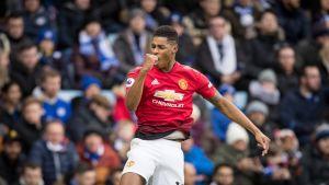 Solskjärin United ei tappiota tunne - näin kaatui vieraissa Leicester
