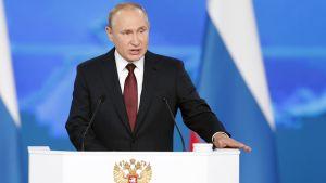 Putin puhuu liittokokoukselle