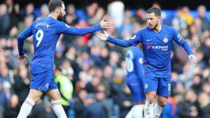 Chelsea ja Wolverhampton pistejakoon, Hazard tasoitti lisäajalla