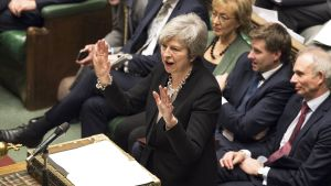 Brittiparlamentti väittelee brexit-sopimuksesta