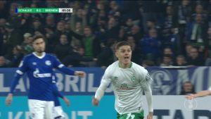 Bremen taituroi 2-0 voittoon Schalkesta